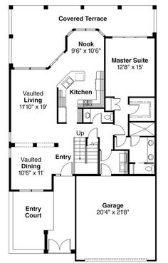 600 square foot house plans home plans and designs | Home Designs ...