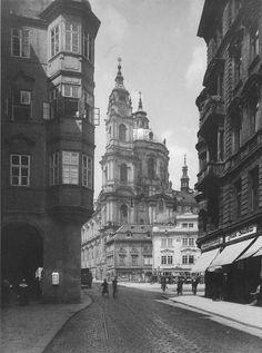 Prague, Saint Nicholas Church by JaroslavBruner-Dvořák, 1922