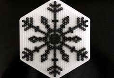 Snowflake hama perler beads - Crafts & DIY – Tuts+