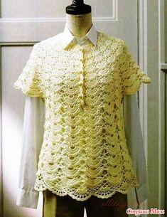 * Coqueta japonés - Todo en calado ... (crochet) - País mamá