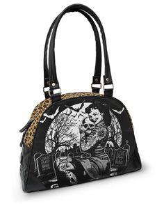 Graveyard Bowler Bag