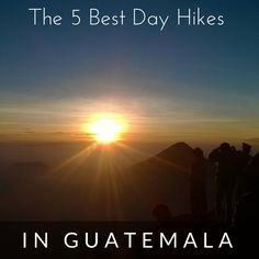 Guest post by Lourdes Diaz One of the main reasons why anyone should hike in Guatemala is for is natural beauty. But you may find yourself with so many options that it isn't easy to decide which hike to do. I'm Guatemalan and have been hiking for