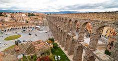 Acueducto de Segovia Archaeology, Vineyard, Places To Go, Dolores Park, Barcelona, Journey, World, City, Travel