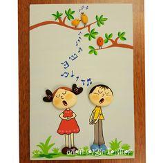 20x30 cm. #satilik #tasboyamasanati #tastasarim #stonepainting #stoneart #handmade #elemegi #gift #kisiyeozelhediye #creative #tasarım #sanat #art  #cocukodasidekorasyon #homedecor #müzik #musique #music #sarki #chanson #nota #duet