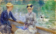 JOY: Berthe Morisot, Summer's Day (1879)