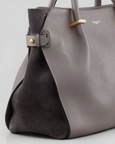 Nina Ricci Marche Small Tote Bag, Gray - Another Gorgeous View!!!!