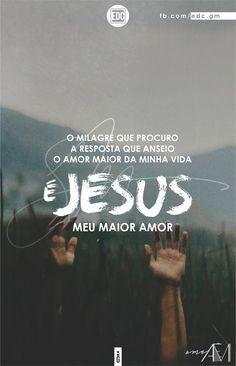 """""""O milagre que eu procuro, a resposta que eu anseio, o amor da minha vida é Jesus"""" André Valadão"""