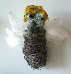 """Hive"" doll by Santa fe Artist Kelly Moore"