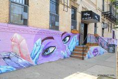 street art bushwick collective new york brooklyn nyccrazygirl New York Street Art, Street Art News, Brooklyn, Graffiti, Ville New York, Crazy Girls, New Art, Photos, Neon Signs