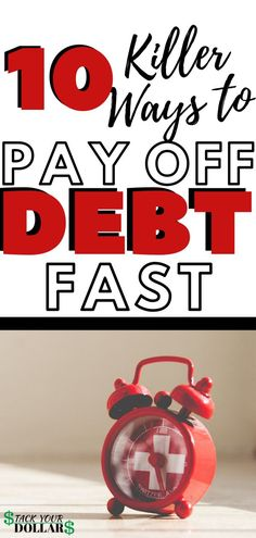 These are 10 of the best ways to pay off debt fast and reach financial freedom. Learn ways to pay off more and about the debt snowball vs avalanche. Debt Free Living, Living On A Budget, Debt Repayment, Debt Payoff, Budgeting Finances, Budgeting Tips, Ways To Save Money, Money Saving Tips, Money Tips