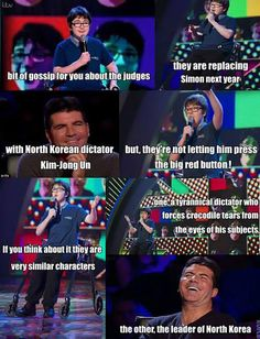 Simon Cowell gets owned gracefully…BUT LOOK HOW FUNNY HE FINDS IT!! THAT'S THE BEST