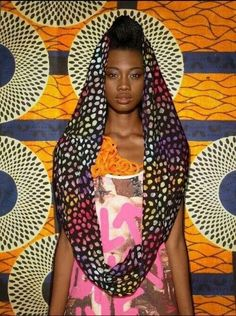 African Style Colourful Pattern Mixes