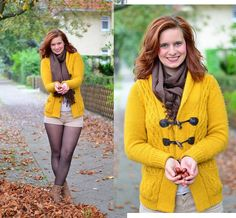 #Kastaniensammeln #Herbst #Herbstoutfit #senfgelb #Annanikabu #Outfit #Strickjacke #Autumn #Autumnlook #Modeblog #Fashion #Fashionblog #Lookbook  See more on: http://annanikabu.com/autumn-leaves-ein-herbstspaziergang-macht-alles-besser/