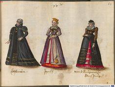Noblewoman, bride and Burger of Strassburg 1576