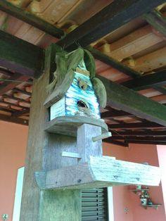 Casinha para o passarinho fazer seu ninho.