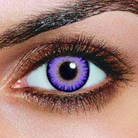 Dual Color Violet Contact Lenses (Pair)   Doing it:)
