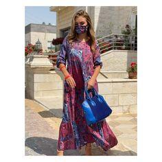 Summer Dress – QuickBuy Overalls, Braids, Shoulder Dress, Dresses With Sleeves, Summer Dresses, Long Sleeve, Womens Fashion, Modern, Bang Braids