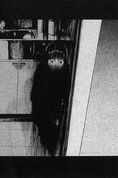 Fuan no Tane by Masaaki Nakayama Creepy Images, Creepy Pictures, Arte Horror, Horror Art, Art Deco Tattoo, Creepy Photography, Animal Art Projects, Japanese Horror, Creepy Horror