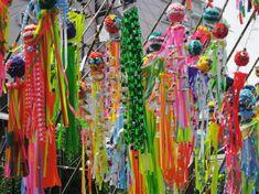tanabata decorations