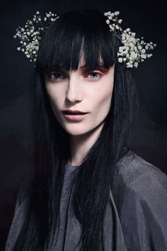Romantically Gothic Lookbooks - The Miista Fall 2013 Catalog is Aptly Titled 'Midnight Waters' (GALLERY)