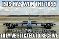 The U.S. Military will be on offense the isis defense is in trouble.