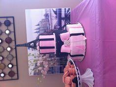 My Parisian bridal shower cake!