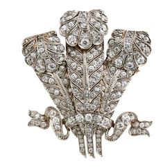 Tiffany & Co., Platinum, 18kt Yellow Gold and Diamond Lady's Brooch. Invaluable is the world's largest marketplace for art, antiques, and collectibles.