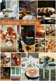 Thanksgiving table decorations #HolidayIdeaExchange