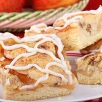 Cinnamon Apple Streusel Bars by Recipe4Living