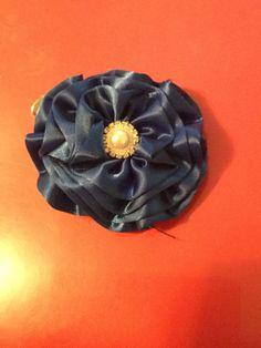 Fancy blue flower