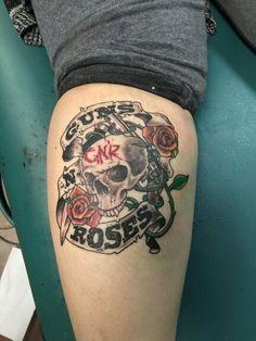 Guns N Roses firepower tattoo