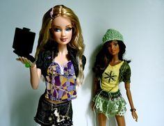 Fashion Fever Teresa and Tia by loomy_59, via Flickr
