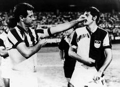 Can Bartu and Metin Oktay, they are legends for Fenerbahçe and Galatasaray. They changed their forms.