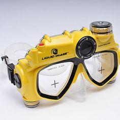 This mask has a built-in digital camera that takes five-megapixel photos. $100; hammacher.com.