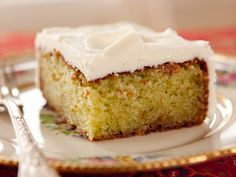 Key Lime Cake   Recipe adapted from Home Cooking with Trisha Yearwood