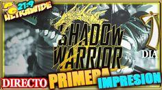 SHADOW WARRIOR 2 #1 PRIMERA IMPRESION Gameplay Español 21:9 + LICHTSPEER