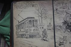 Albert Tolf sketch of Joliet. This one features south richards run.
