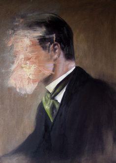 "Saatchi Online Artist: Jesùs Leguizamo; Oil, 2012, Painting ""The Psyche"""