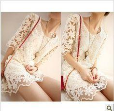 Boutique Slim Lace Fresh Vintage Style Lovely Dress Gentlewomanly Dress : Tbdress.com 69-/29-