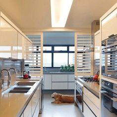 Divisória cozinha / área de serviço