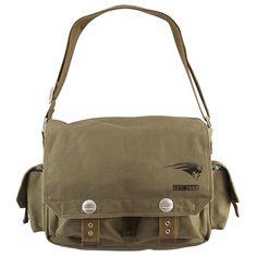 New England Patriots NFL Prospect Deluxe Messenger Bag