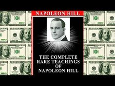 Napoleon Hill - Five Steps To A Positive Mental Attitude - Think And Grow Rich, Law of Attraction - YouTube