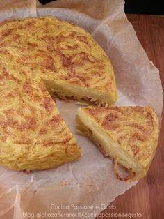 Frittata di pasta farcita ricetta napoletana