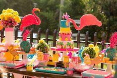 Flamingo Garden Party