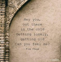 """Hey You,"" Pink Floyd lyrics"