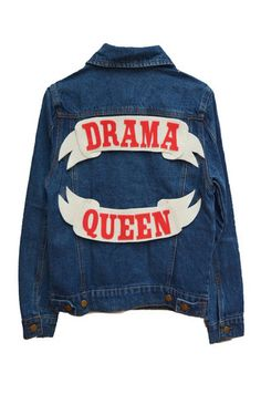 Drama Queen Denim Jacket