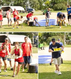 Summer party themes, adult field day, backyard field day games, backyard games, summer party