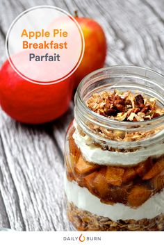 Apple Pie Breakfast Parfait Recipe