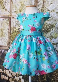 Birthday & Party Dresses For Young Girls Girls Frock Design, Kids Frocks Design, Baby Frocks Designs, Baby Dress Design, African Dresses For Kids, Little Girl Dresses, Girls Dresses, Party Dresses, Kids Dress Wear