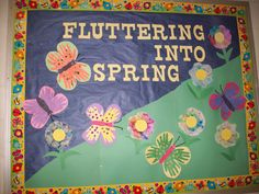 <b>Spring bulletin board</b> | Teaching | Pinterest